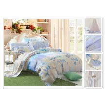 40 * 40s 133 * 72 impresión reactiva Purebest tencel lujo seda ropa de cama