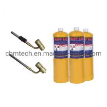 High Quality En12205 14.1oz 1L Mapp Gas Cylinders