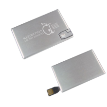 Metal Card Custom Logo Usb Pen Drive