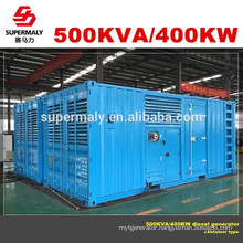 CE ISO approved power plant generator with 24hrs tank