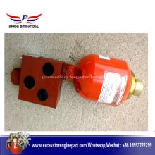 La cargadora de ruedas XGMA parte la válvula de aceite 12C0043