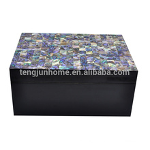 New zealand paua shell sea shells jewelry box