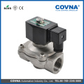 HK07 cf8m female thread water check solenoid valves