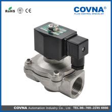 Válvulas solenoide de comprobación de agua HK07 cf8m hembra