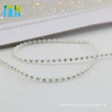 GBA024 Bridal Jeweled By The Yard Gold Rhinestone Trim