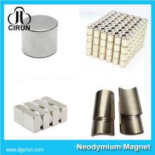China Hersteller Super Strong High Grade seltene Erde gesintert Permanent Sensor Magnet / NdFeB Magnet / Neodym-Magnet