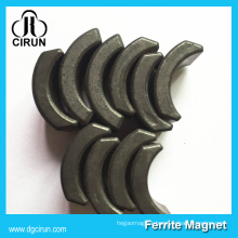 Cheap Price Wet Pressing 550 Arc Ferrite Motor Magnets