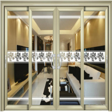 Aluminium Sliding Door with Tempered Laminated Glass