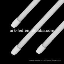 El UL resistente a la temperatura ULTRAVIOLETA certificado DLC 18w los 4ft los 120cm lastre compatibles esmerilado / Clear t8 llevó el tubo de cristal
