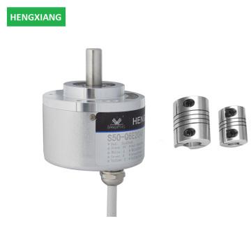 Durchmesser 50mm Vollwelle 8mm 600ppr Encoder mit Aluminium-Anschluss