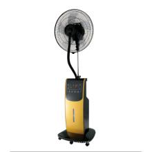 Névoa fã água ventilador umidificador ventilador ar ventilador do Cooler