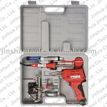 Soldering Gun 9pcs sets JS98-B+JS201-A