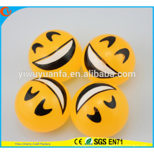 Hot Selling High quality Novelty Design Emoji com brinquedo de bola Splat de rosto feliz