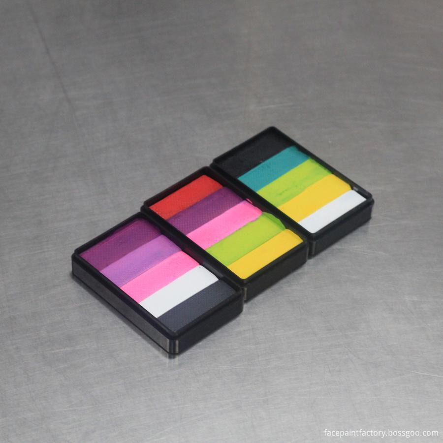 Rainbow Face Paint