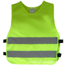Reflective safety junior vest