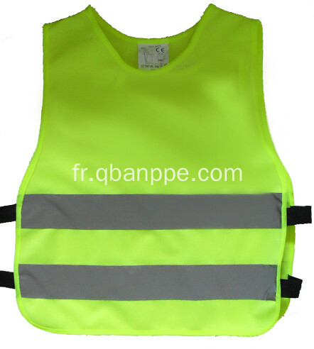 Reflecting junior children vest