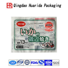 De boa qualidade Malote congelado do empacotamento plástico de saco do alimento