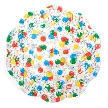 Colorful Balloon Round Paper Doilies for Happy Birthday