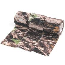 Fita de tecido de camuflagem biônica de duto de camuflagem impressa para caça ao ar livre tática