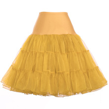Grace Karin mediana falda de orquídea enagua enagua crinolina para vestidos de época CL008922-16