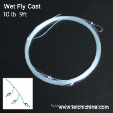 Fly Fishing Two Dropper Wet Fly Cast