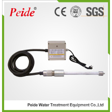 Dispositivo de tratamiento de agua con barra de iones electrostática no químico