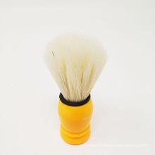 PP Handle shaving brush PBT taperted filaments beard brush man facial brush