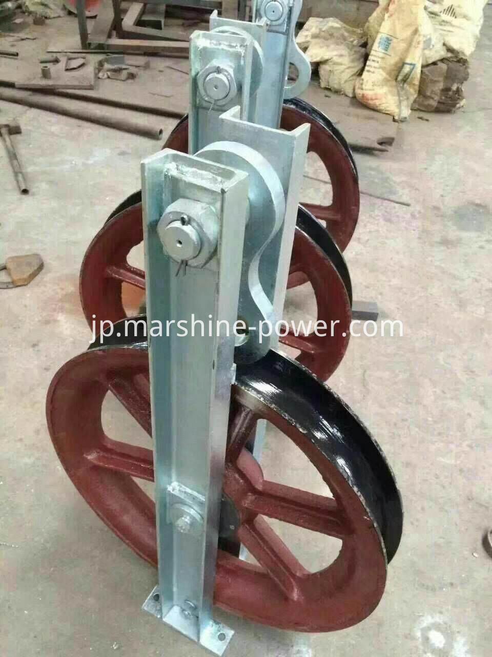Turning Pulley Block