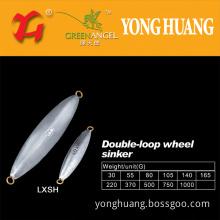 Double Loop Wheel Type Sinker