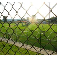Esportes Campo Usando PVC Revestido Chain Link Fence