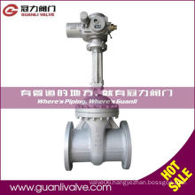 API600 Class300 Gate Valve with Electric Actuator