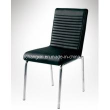 Новый дизайн современных пу кожаный обеденный стул