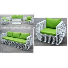 Novo design 4 peças de conjunto de sofá de jardim de ratã (OT07)