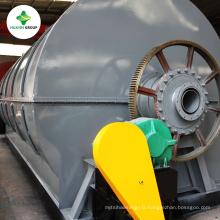 Machine de conversion de plastique à carburant avec rendement élevé d'huile