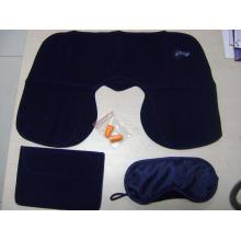 Kit de Viagem 3 em 1 para Companhia Aérea e Camping