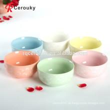 Mehrfarbige Porzellan Schüsseln Steinzeug Keramik Schüssel Großhandel