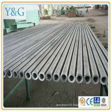 5556(N61) aluminium alloy anodized mill finished sand blasted tube / pipe