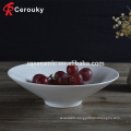 Hotel restaurant ceramic soup serving bowl ceramic bowl