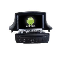 Viererkabelkern Android 6.0 Auto-DVD für NEUEN MEGANE mit kapazitivem Schirm / GPS / Spiegel-Verbindung / DVR / TPMS / OBD2 / WIFI / 4G