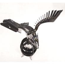 Ilustraciones de corte de chapa / acero inoxidable / águila / láser