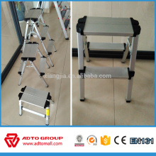 Wholesale Cheap price aluminum household 2 step stool ladder