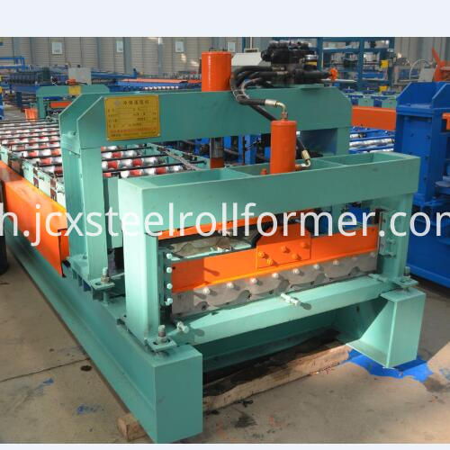 740 glazed tile roll forming machine