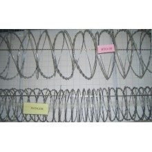 Stainless Steel Razor Wire, Barbed Wire, Concertina Razor Wire
