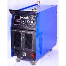 MIG / MMA Máquina de soldadura / Soldador / Equipo de soldadura MIG500I
