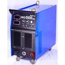 MIG / MMA Máquina de solda / soldador / equipamento de solda MIG500I