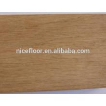 Suelo de madera maciza de roble 18 mm de espesor de suelo de madera dura
