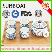 OEM и ODM Подгонянная эмаль чайник и чашки