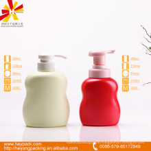 280 300ml round shoulder oval HDPE handwash bottle
