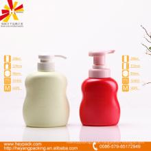 280 300ml round shoulder oval HDPE handwash bottle
