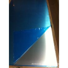 1060 Hoja de aluminio con película azul